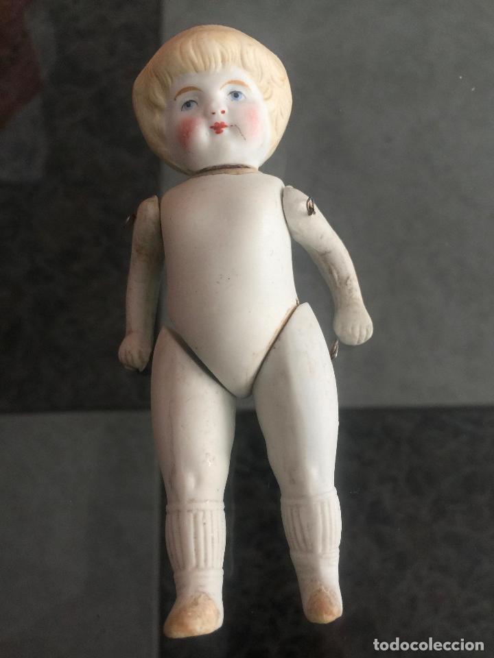 ANTIGUA MUÑECA BISCUIT , GERMANY , DOLL GERMANY (Juguetes - Muñeca Extranjera Antigua - Otras Muñecas)
