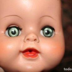Muñecas Extranjeras: ANTIGUO MUÑECO BEBE PELO MOLDEADO AMERICANO. Lote 124016635