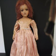 Muñecas Extranjeras: MUÑECA ANTIGUA MADAME ALEXANDER WENDY1930-40 DE COMPOSICION 50 CM. WENDY FACE DOLL IN TAGGED. Lote 124433859