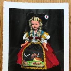 Muñecas Extranjeras: TARJETA POSTAL MUÑECAS PROVINCIALES DE FRANCIA - L'ALSACIENNE - POUPÉES MAGALI - MUÑECA. Lote 131350822