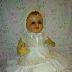 International Dolls - Muy antiguo muñeco bebe bebote alemán - 133861330