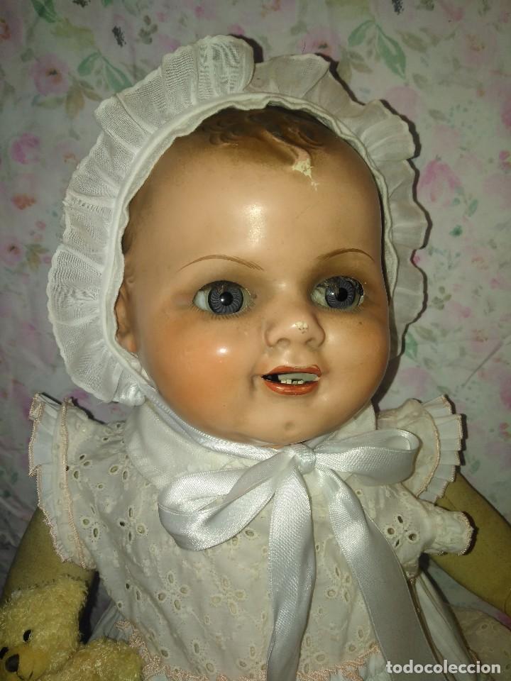 Muñecas Extranjeras: Muy antiguo muñeco bebe bebote alemán - Foto 2 - 133861330