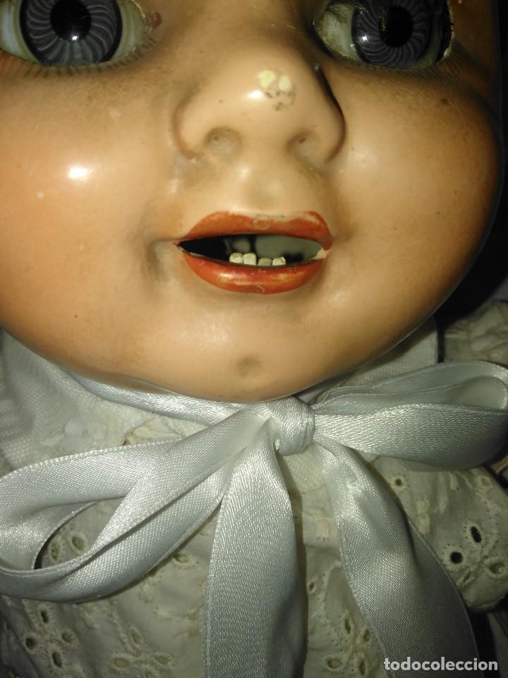 Muñecas Extranjeras: Muy antiguo muñeco bebe bebote alemán - Foto 3 - 133861330