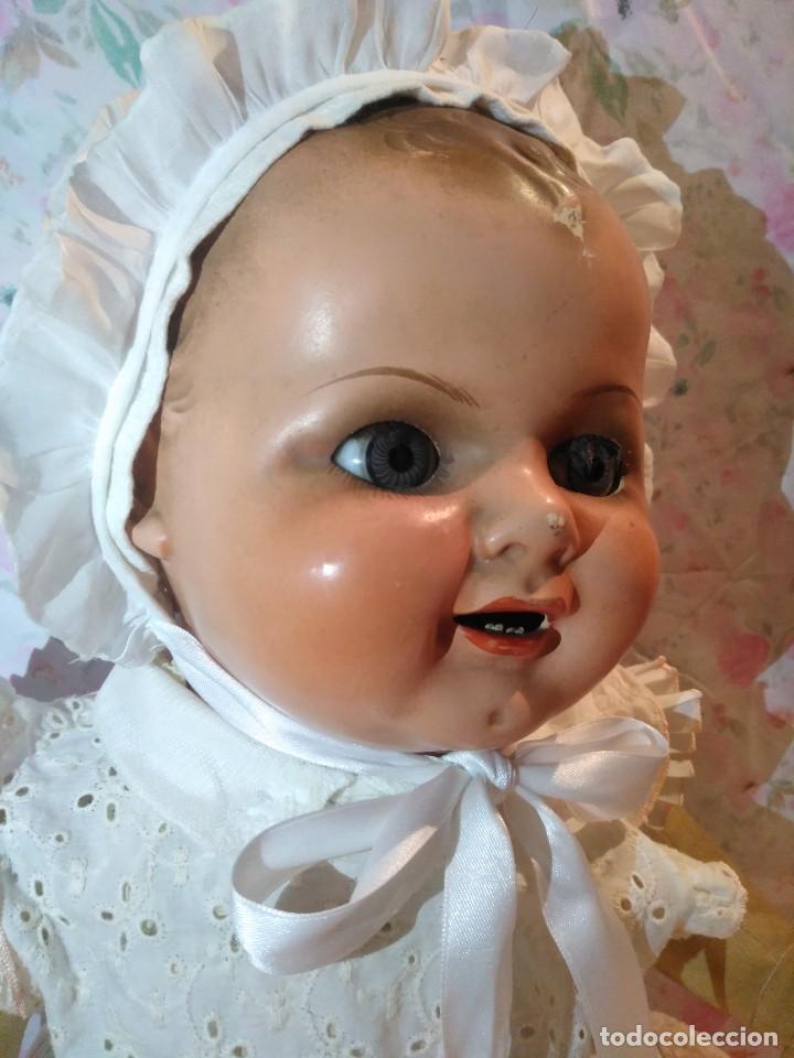 Muñecas Extranjeras: Muy antiguo muñeco bebe bebote alemán - Foto 4 - 133861330