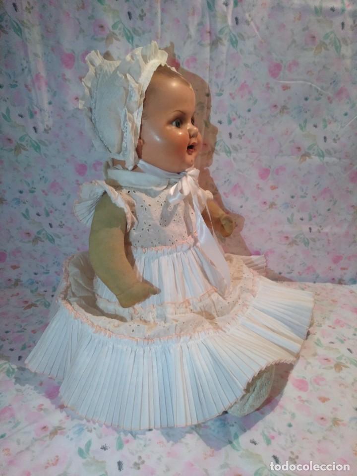 Muñecas Extranjeras: Muy antiguo muñeco bebe bebote alemán - Foto 5 - 133861330