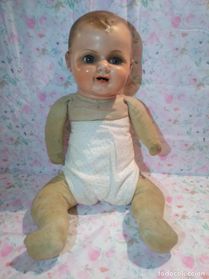 Muñecas Extranjeras: Muy antiguo muñeco bebe bebote alemán - Foto 6 - 133861330
