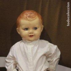 Muñecas Extranjeras: ANTIGUO MUÑECO FRANCÉS, AÑOS 50, OJOS MÓVILES. GRANDE, 50CM. Lote 134939386