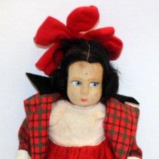 Muñecas Extranjeras: MUÑECA ARTICULADA (CREO) LENCI DE LOS AÑOS 50 CON SU VESTIDO ORIGINAL. Lote 136820778