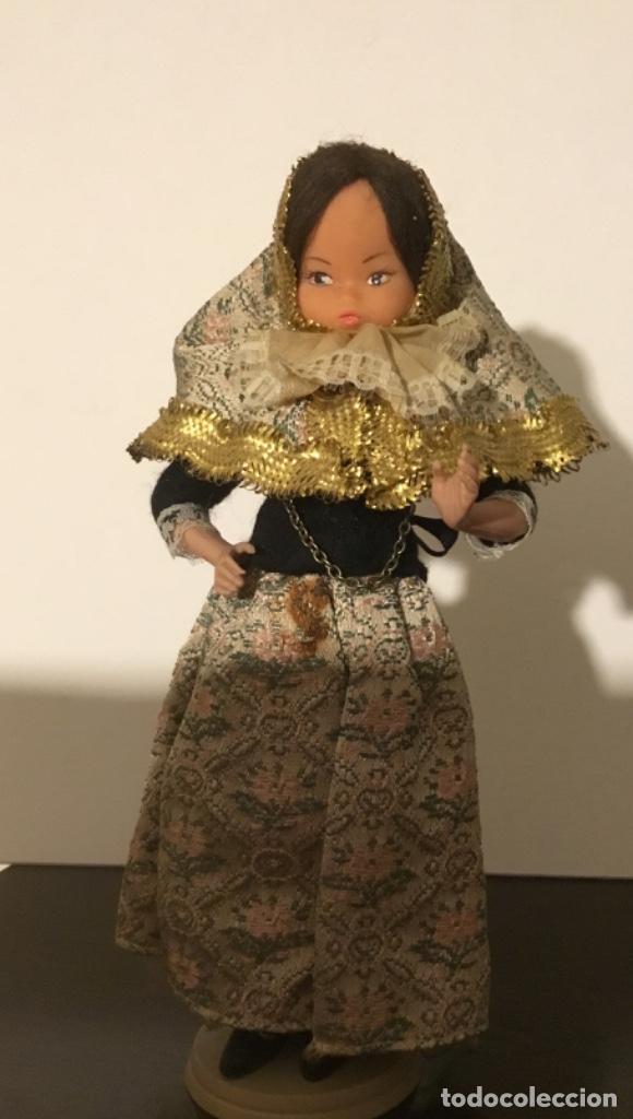 ANTIGUA MUÑECA TRAPO Y CELULOIDE (Juguetes - Muñeca Extranjera Antigua - Otras Muñecas)