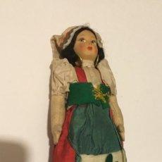 Muñecas Extranjeras: ANTIGUA MUÑECA TRAPO . Lote 137684502