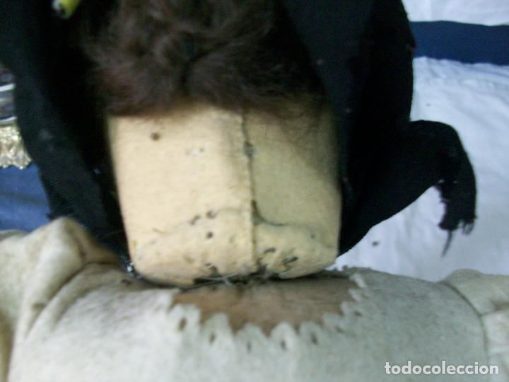 Muñecas Extranjeras: MUÑECA MUY ANTIGUA-CARTON Y TRAPO - Foto 3 - 138554586