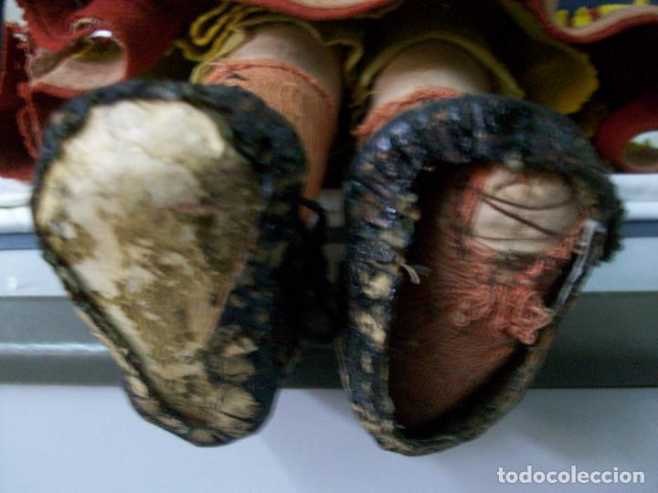 Muñecas Extranjeras: MUÑECA MUY ANTIGUA-CARTON Y TRAPO - Foto 5 - 138554586