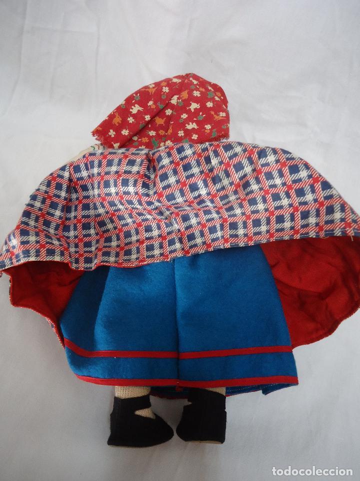 Muñecas Extranjeras: Muñeca Lenci años 20/30 Con vestido regional. Altura 31 cms. - Foto 5 - 138613258