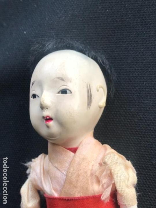 Muñecas Extranjeras: MUÑECO JAPONES NIGNYO DE PAPEL MACHE PERIODO MEIJI. 1850'S. - Foto 3 - 140008886
