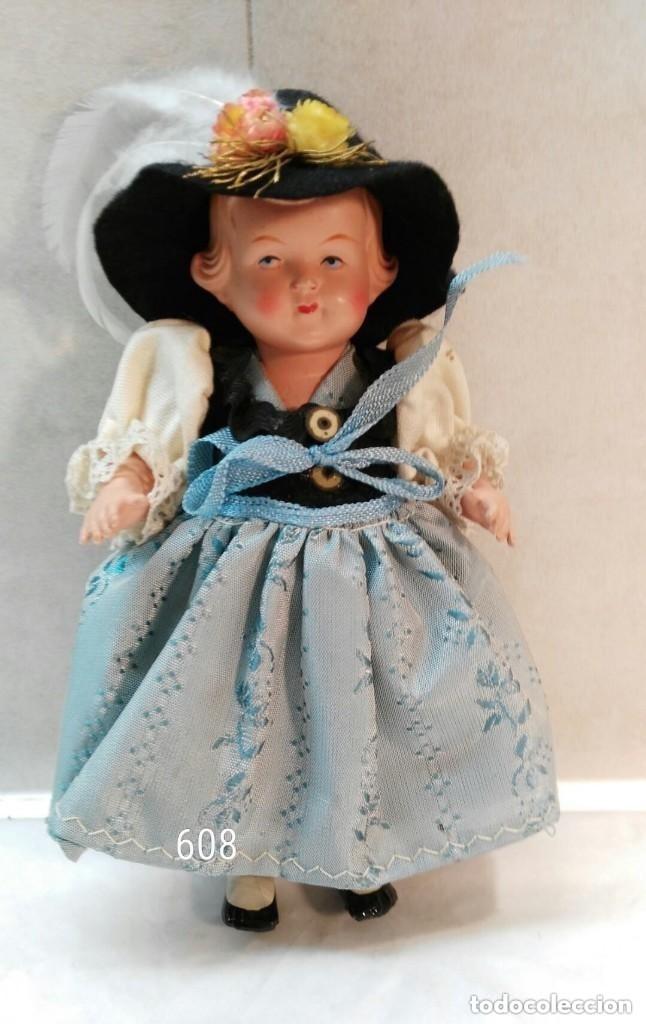 PAREJA ÉTNICA AUSTRIA (Juguetes - Muñeca Extranjera Antigua - Otras Muñecas)