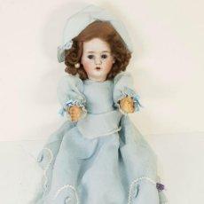 Muñecas Extranjeras: MUÑECA ETIENNE LECONTE. PORCELANA Y COMPOSICIÓN. FRANCIA. SIGLO XIX. . Lote 141759118