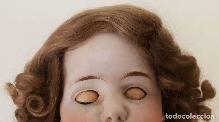 Muñecas Extranjeras: MUÑECA ETIENNE LECONTE. PORCELANA Y COMPOSICIÓN. FRANCIA. SIGLO XIX. - Foto 5 - 141759118