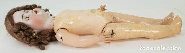 Muñecas Extranjeras: MUÑECA ETIENNE LECONTE. PORCELANA Y COMPOSICIÓN. FRANCIA. SIGLO XIX. - Foto 16 - 141759118