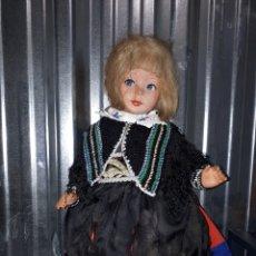 Bambole Internazionali: ANTIGUA MUÑECA ALEMANA CARTÓN PIEDRA CON LLORÓN SÓLO MARCA EN ZAPATOS B.P.N.. Lote 142231264