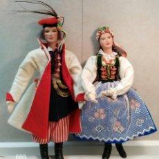 Muñecas Extranjeras: PAREJA DE POLACOS. Lote 142281406