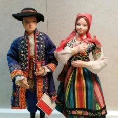 Muñecas Extranjeras: PAREJA POLACA. Lote 142284730