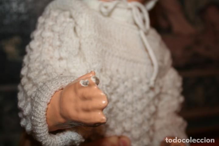 Muñecas Extranjeras: antiguo muñeco de carton piedra - Foto 6 - 142417026