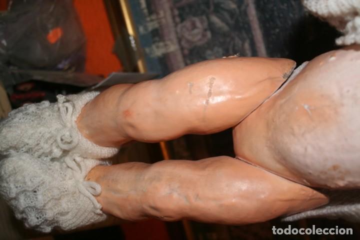 Muñecas Extranjeras: antiguo muñeco de carton piedra - Foto 8 - 142417026