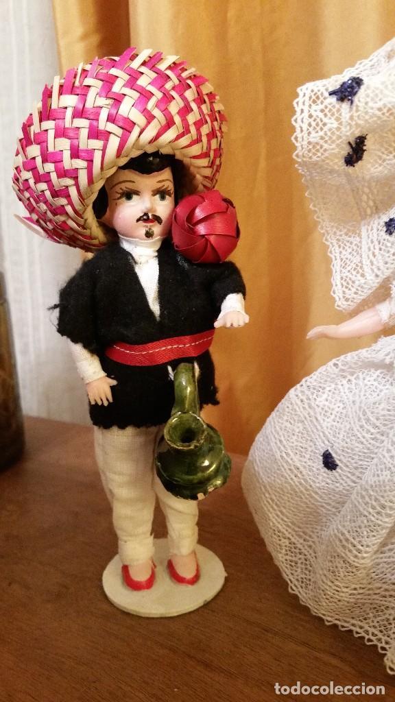 Muñecas Extranjeras: ANTIGUOS MUÑECOS MEXICANOS TIPICOS - Foto 2 - 144146590