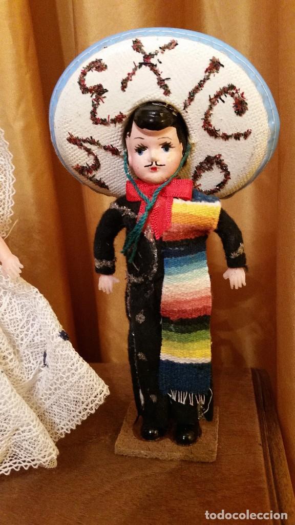 Muñecas Extranjeras: ANTIGUOS MUÑECOS MEXICANOS TIPICOS - Foto 4 - 144146590