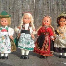 Muñecas Extranjeras: COLECCIÓN MUÑECAS ANTIGUAS TRADICIONALES. Lote 148576262