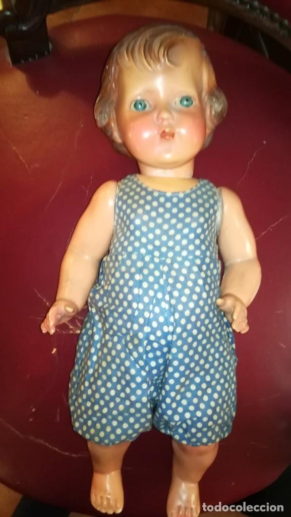 Muñecas Extranjeras: MUÑECO ANTIGUO DE CARTÓN PIEDRA - Foto 2 - 149519058
