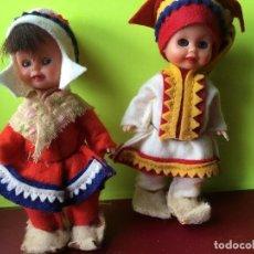 Muñecas Extranjeras: ANTIGUA PAREJA DE MUÑECOS FINLANDESES. Lote 150690766