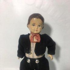 Muñecas Extranjeras: ANTIGUO MUÑECO MUÑECA EN CARTÓN ORIGINAL AÑOS 20/30. Lote 150764618