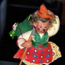 Muñecas Extranjeras: ERIZO MICKI - AUSTRIA - ORIGINAL PETER FIGUREN - AÑOS 50-60. Lote 151359886