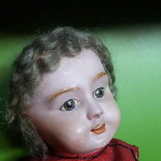 Muñecas Extranjeras: ANTIGUA MUÑECA CON PELO MOHAIR. Lote 151510018
