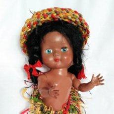 Muñecas Extranjeras: MUÑECA NEGRITA ANTIGUA MADE IN ENGLAND. Lote 151650322