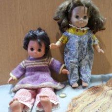 Muñecas Extranjeras: MUÑECAS ITALIANAS. AÑOS 60. PAREJA.. Lote 151735434