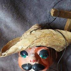 Muñecas Extranjeras: MARIONETA ANTIGUA MEJICO. Lote 151982398