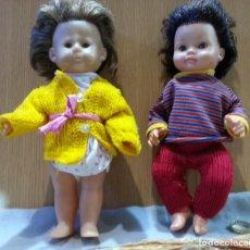 Muñecas Extranjeras: MUÑECAS ITALIANAS. AÑOS 60. PAREJA.. Lote 152275138