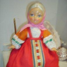 Muñecas Extranjeras: ANTIGUA MUÑECA RUSA PARA MANTENER EL CALOR DE LA TETERA. Lote 152721142