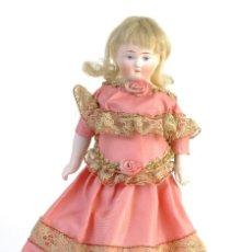 Muñecas Extranjeras: MUÑECA EUROPEA CABEZA, BRAZOS Y PIERNAS EN PORCELANA FINALES SIGLO XIX. Lote 153385402