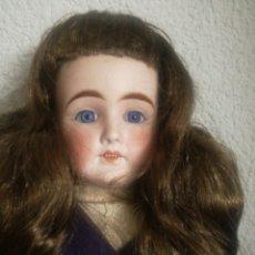 Muñecas Extranjeras: ESPECTACULAR MUÑECA DE PORCELANA, CON CUERPO DE CABRETILLA. Lote 154311869
