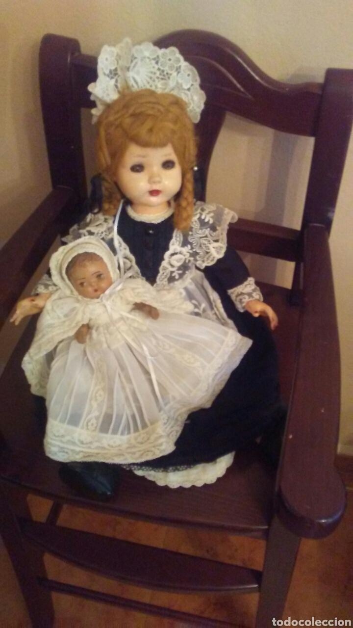 ANTIGUA MUÑECA MADAME ALEXANDER(VER FOTOS Y LEER DESCRIPCION EL BEBE NO ENTRA EN EL LOTE (Juguetes - Muñeca Extranjera Antigua - Otras Muñecas)