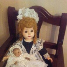 Muñecas Extranjeras: ANTIGUA MUÑECA MADAME ALEXANDER(VER FOTOS Y LEER DESCRIPCION EL BEBE NO ENTRA EN EL LOTE. Lote 155402482
