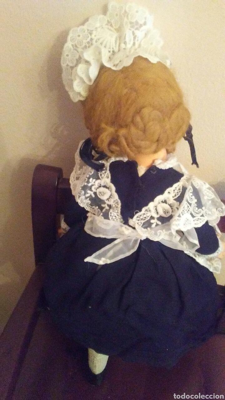 Muñecas Extranjeras: Antigua muñeca Madame Alexander(ver fotos y leer descripcion el bebe no entra en el lote - Foto 4 - 155402482