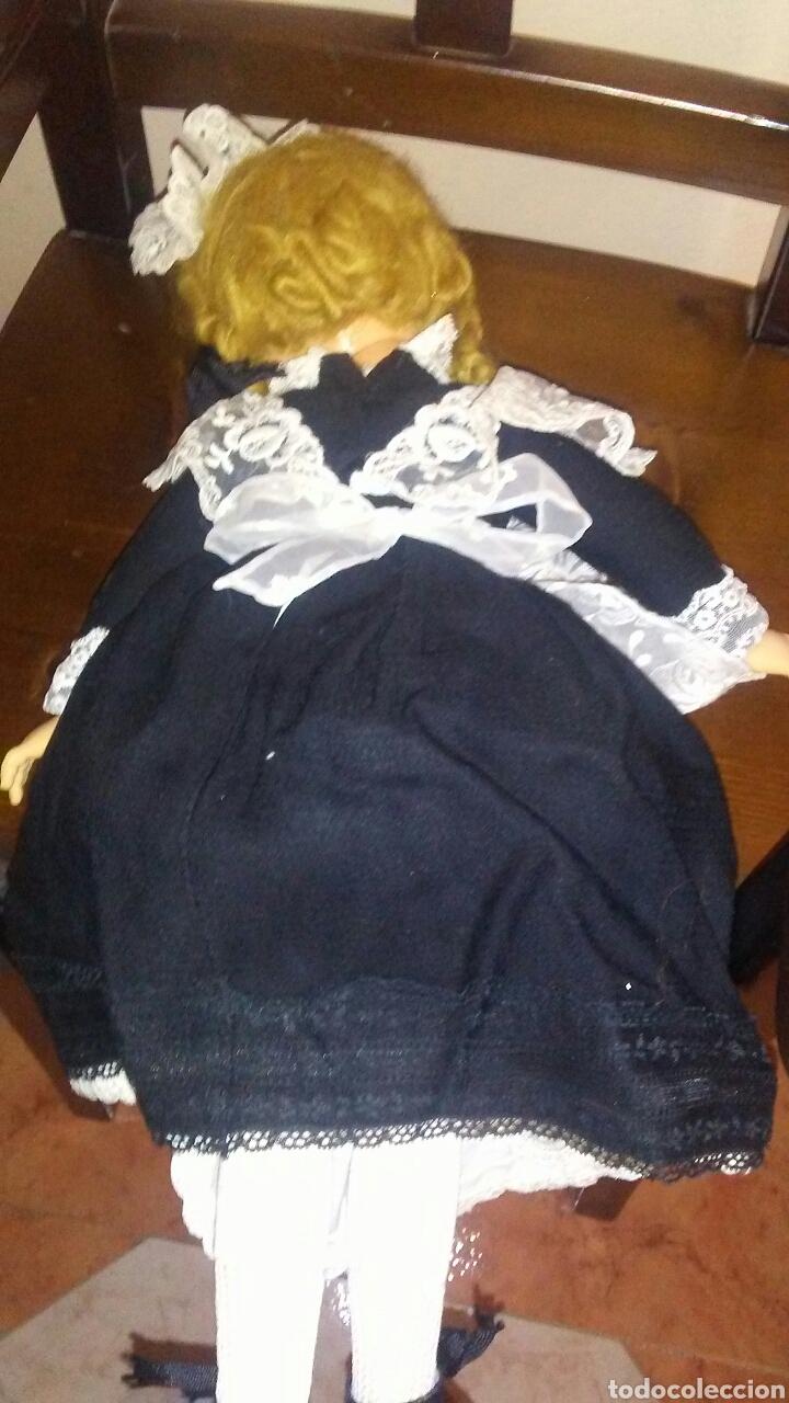 Muñecas Extranjeras: Antigua muñeca Madame Alexander(ver fotos y leer descripcion el bebe no entra en el lote - Foto 6 - 155402482