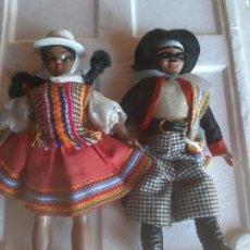 Muñecas Extranjeras: PAREJA DE MUÑEQUITOS SUDAMERICANOS. Lote 156188594