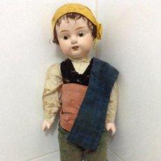 Muñecas Extranjeras: MUÑECO ALEMÁN DE COMPOSICION. Lote 156984006