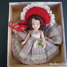 Muñecas Extranjeras: VINTAGE NANCY ANN STORY BOOK DOLL 1950'S , MUÑECA ANTIGUA NANCY ANN 15 CM. PLASTICO DURO . Lote 157285050