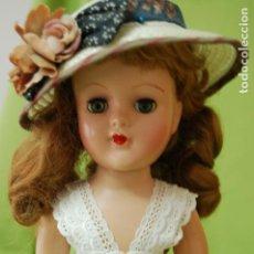 Muñecas Extranjeras: MUÑECA AMERICANA DE PASTA AÑOS 50. Lote 159056826